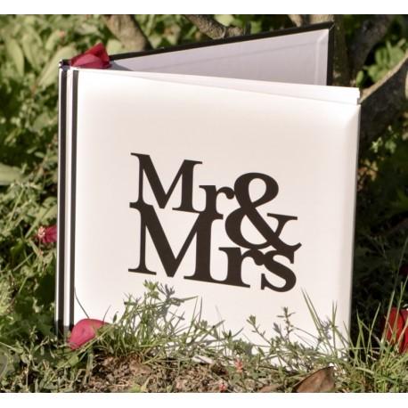 Livre d'or mariage Mr & Mrs