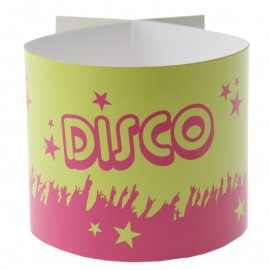 Ronds de serviette disco les 6