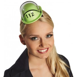 Mini casque pompier femme