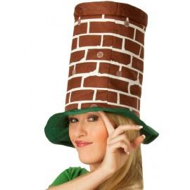 Chapeau haut de forme cheminée adulte