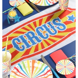 Chemin de table cirque en intissé 5 M