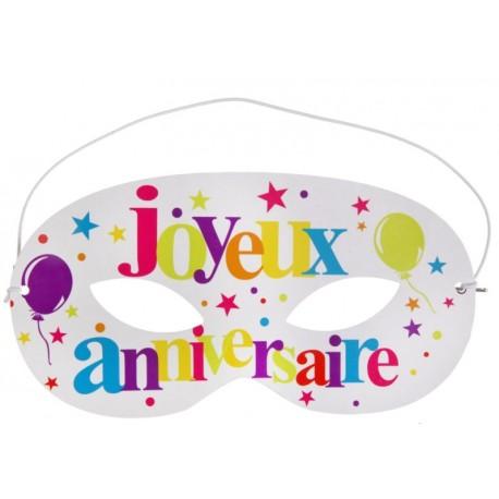 Loup en carton joyeux anniversaire les 10