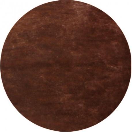 Set de table chocolat rond en intissé 34 cm les 50