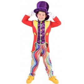 Déguisement clown garçon luxe