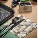 Serviettes de table kraft bouchons de vin papier les 20