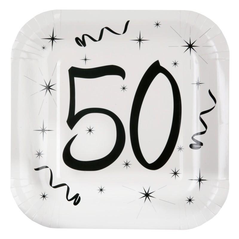 assiette carton anniversaire 50 ans les 10 d co anniversaire 50 ans. Black Bedroom Furniture Sets. Home Design Ideas