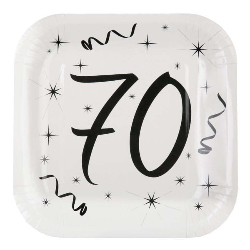 assiette carton anniversaire 70 ans les 10 d co anniversaire 70 ans. Black Bedroom Furniture Sets. Home Design Ideas