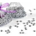Perles de pluie argent les 300