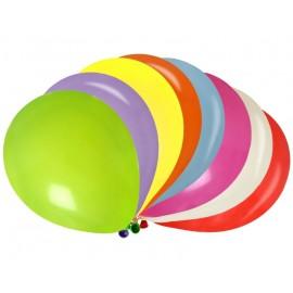 Ballons multicolores 23 cm les 8