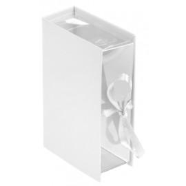 Boîte à dragées livre blanc les 4