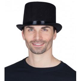 Chapeau haut de forme noir adulte