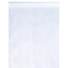 Chemin de table intissé blanc 10 M x 60 cm