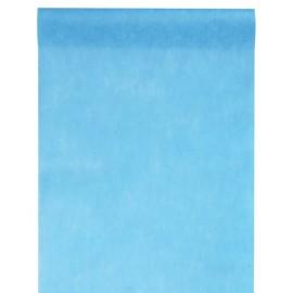 Chemin de table intissé turquoise 10 M x 60 cm