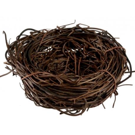 Mini nid d'oiseau 5 cm les 4