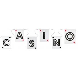 Guirlande fanions casino 500 cm