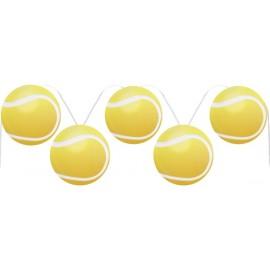 Guirlande balle de tennis 400 cm