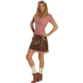 Déguisement jupe tyrolienne femme
