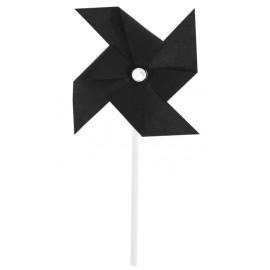 Piques cocktail moulin à vent noir les 4