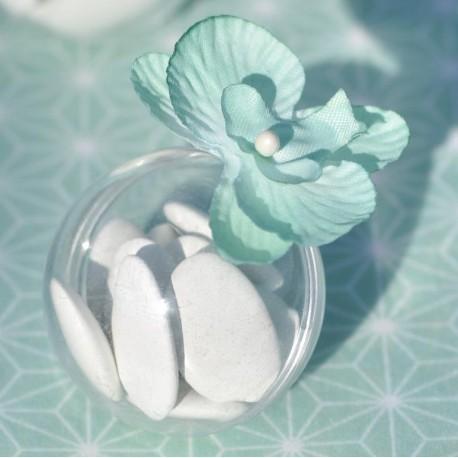 Boule plexi transparent 4 cm les 10