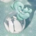 Boules plexi transparent 4 cm les 10