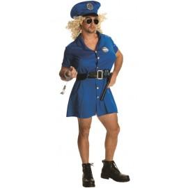 Déguisement humoristique policière homme