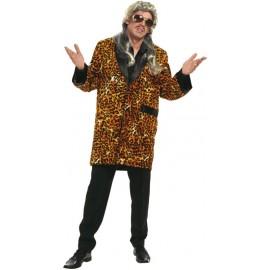 Déguisement pimp léopard homme
