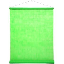 Tenture de salle fluo vert intissé 12 M