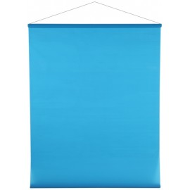 Tenture de salle brillant-mat turquoise 12 M
