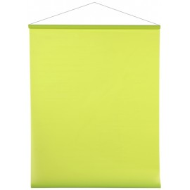Tenture de salle brillant-mat vert anis 12 M