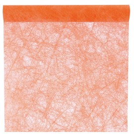 Chemin de table fanon orange 5 M