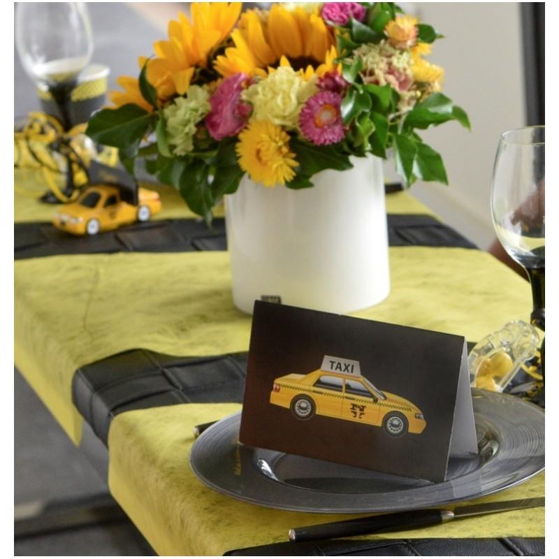Chemin de table fanon jaune achat chemin de table pas cher for Chemin de table jaune