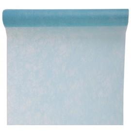 Chemin de table fanon bleu ciel 5 M