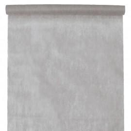 Nappe en intissé gris - rouleau de 120 cm x 10 M