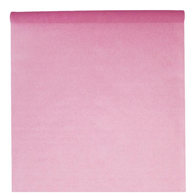 nappe en intiss rose rouleau de 120 cm x 10 m nappe grande largeur. Black Bedroom Furniture Sets. Home Design Ideas