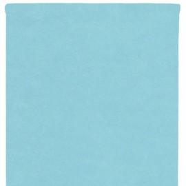 Nappe en intissé bleu ciel - rouleau de 120 cm x 10 M
