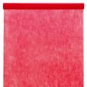 Nappe en intissé rouge - rouleau de 120 cm x 10 M