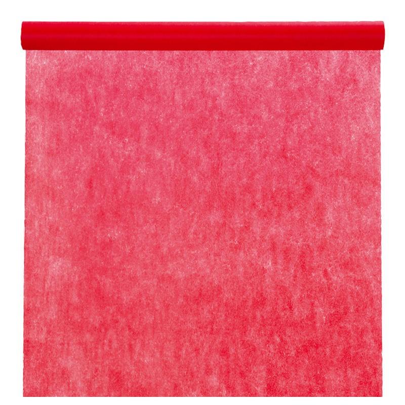 nappe en intiss rouge rouleau de 120 cm x 10 m nappe grande largeur. Black Bedroom Furniture Sets. Home Design Ideas
