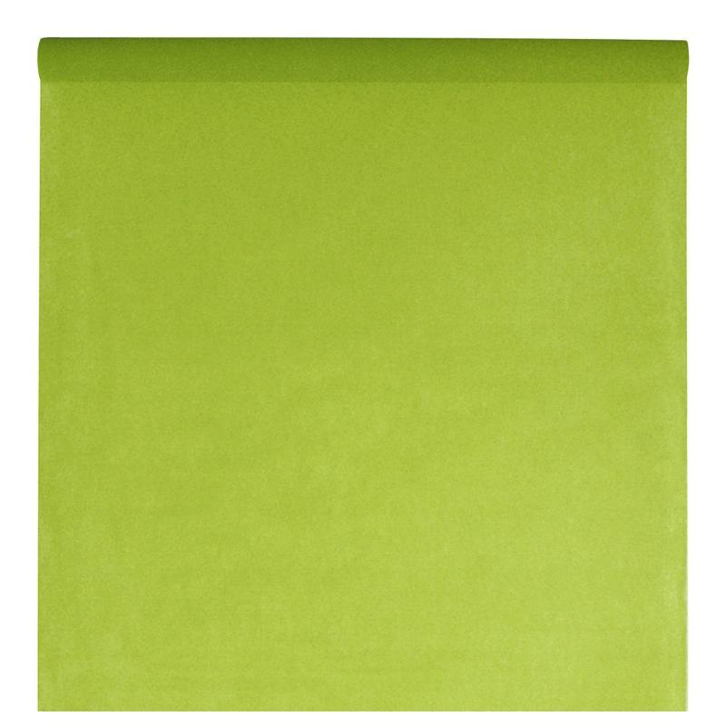 nappe en intiss vert anis rouleau de 120 cm x 10 m nappe grande largeur. Black Bedroom Furniture Sets. Home Design Ideas