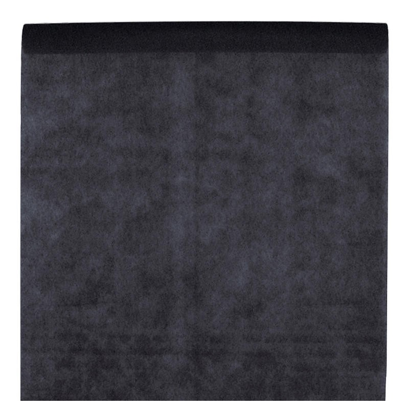 nappe en intiss noir rouleau de 120 cm x 10 m nappe grande largeur. Black Bedroom Furniture Sets. Home Design Ideas