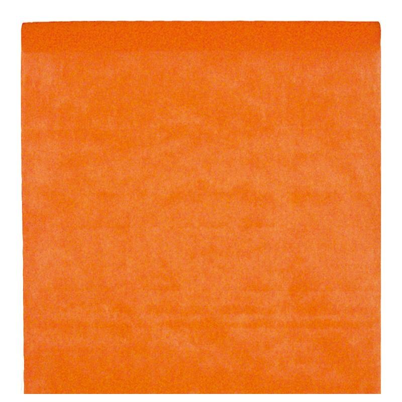nappe en intiss orange rouleau de 120 cm x 10 m nappe grande largeur. Black Bedroom Furniture Sets. Home Design Ideas