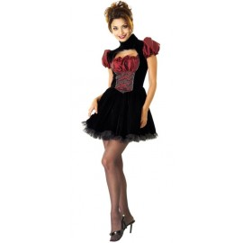 Déguisement French Maid gothique femme luxe