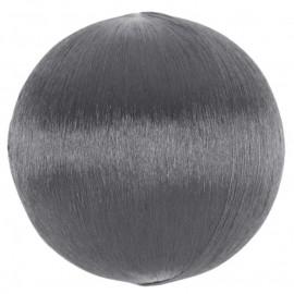 Boules fil argent scintillant 3 cm les 12