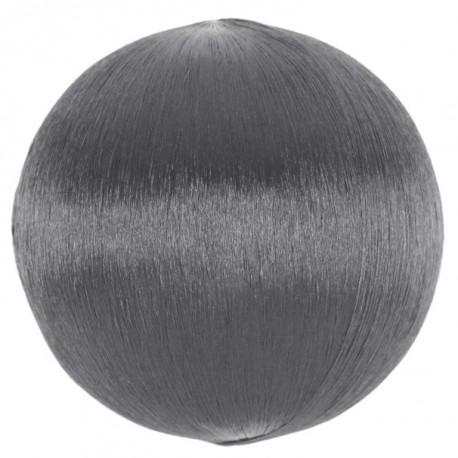 Boule fil argent scintillant 3 cm les 12