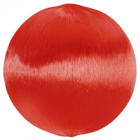 Boule fil rouge scintillant 3 cm les 12