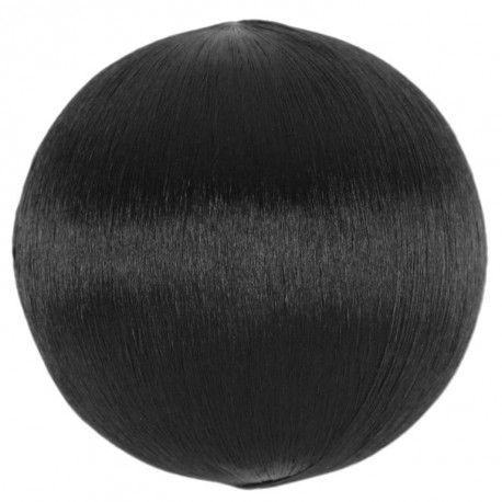 Boule fil noir scintillant 3 cm les 12
