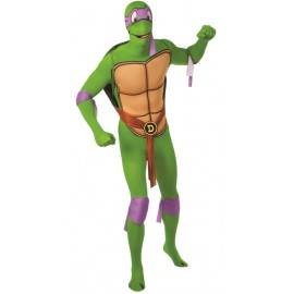 Déguisement Donatello Tortues Ninja™ seconde peau adulte 2nd Skin