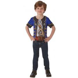Déguisement T-Shirt pirate garçon