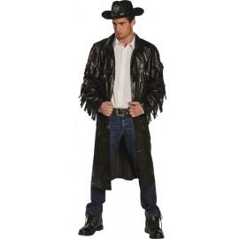 Déguisement manteau cowboy homme