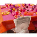 Nappe en intissé orange 150 x 300 cm