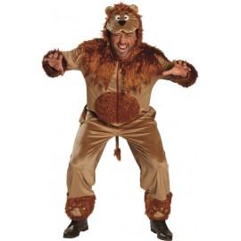 Déguisement lion homme